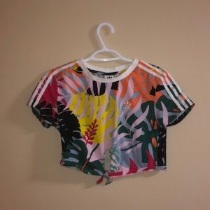 tropical adidas shirt from boathouse